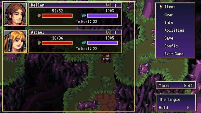 review-shadows-of-adam-menu-screen