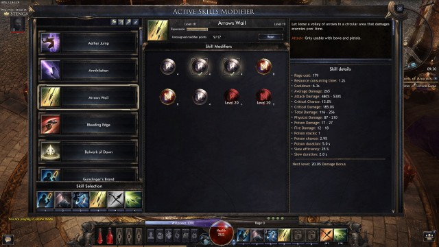 review-wolcen-beta-release-active-skill-modifier